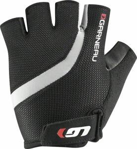NEW Garneau Biogel RX-V Gloves - Black Short Finger Men's Large