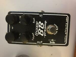 Xotic BB bass preamp pedal