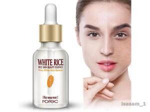 Face Care Skin Whitening Serum Moisture Cream Anti Winkle White Rice Treatment