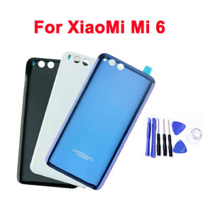 """Original For XiaoMi MI 6 M6 5.15"""" 3D tempered glass Back Battery Cover +Tool Kit"""