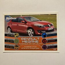 Topps Top Gear Turbo Attax Card 2015 Renault Megane #59