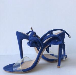 Steve Madden Womens Lyla Wraparound Sandal STEVE MADDEN 5.5M Blue NWOB