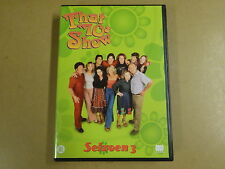 4-DISC DVD BOX / THAT 70'S SHOW - SEIZOEN 3 / SAISON 3