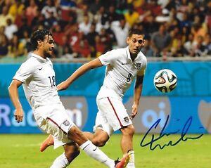 Chris Wondolowski San Jose Earthquakes signed Team USA 8x10 photo autographed
