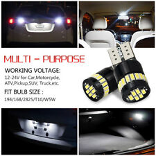 CANbus White 24-SMD W5W 194 168 LED Bulbs Car Side Door Foot Area Courtesy Light