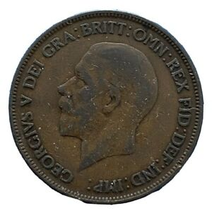 George V 1928 One Penny (214)