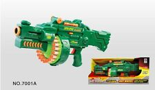 Hot wheels electric semi auto soft bullet nerf gun 20 darts 7001A
