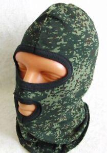 Russian Army Balaclava Face Mask Digital Flora EMR Camo Cotton Underhelmet New