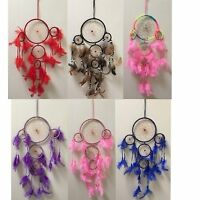 NEW 60cm Web Dream Catcher Feathers Hanging  Dreamcatcher Decor Ornament Gift