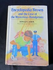 Encyclopedia Brown & the Case of Mysterious Handprints ~ Sobol ~ Weekly Reader