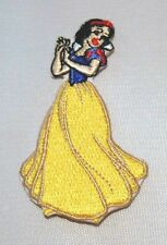 """DISNEY'S SNOW WHITE 3"""" EMBROIDERED PATCH"""