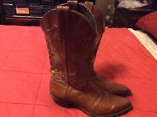 Vintage Capezio Brown Women's Leather Cowboy Boots Size 8.5M