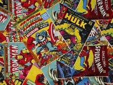 MARVEL COMIC BOOK COVERS  FABRIC  SUPERHERO  CAMELOT FABRICS  COTTON BY THE YARD