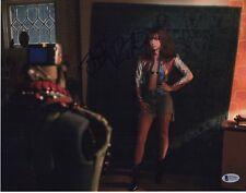 BRITT ROBERTSON SIGNED GIRL BOSS PHOTO 11X14 PHOTO BAS COA SEXY BRA AUTOGRAPH