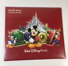Walt Disney Wall Calendar New Sealed - 2007