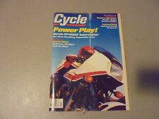 APRIL  1984 CYCLE MAGAZINE,HONDA VF1000F,INTERCEPTOR,HONDA MAGNA,SUZUKI PE175E,