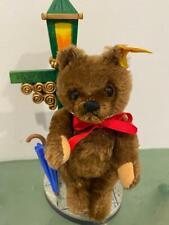 Steiff Splash Teddy Bear Vtg 1999 Exclusive 665998 Lamppost Vignette Boxed Set