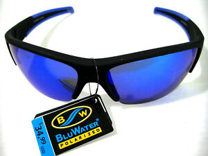 Bluwater ® Polarized Water Resistant Fishing Outdoors Sports Glasses Sunglasses