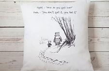 "Love - 16"" cushion cover Vintage Winnie The Pooh Nursery chic  - UK handmade"