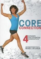 MINDY MYLREA CORE CONNECTION 4 WORKOUTS EXERCISE DVD NEW SEALED FITNESS