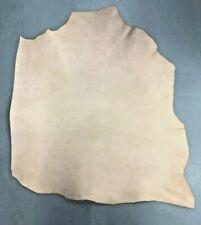 7/8oz. Leather Veg Tan cowhide Natural Tooling holster belt strap crafts strips
