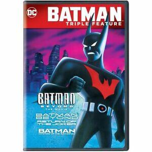 Batman Beyond/ The Movie/ Batman Return Triple Feature DVD Brand New