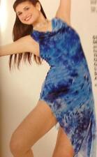 Ballet Lyrical  Dance Costume Artstone Blue Girls Dress Skate  Memory 5186