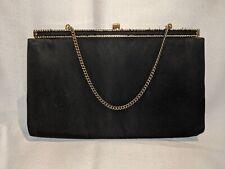 1960's Vintage Handbag HL Harry Levine Made in USA Black