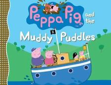 Peppa Pig and the Muddy Puddles - Brother George - Cartoon - Hardcover Book