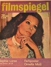 FILMSPIEGEL - 26/1984 - SOPHIA LAUREN - PÓSTER ORNELLA MUTI - FS27
