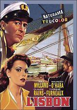 LISBON - 1956 - Ray Milland, Maureen O'Hara, Claude Rains - BRAND NEW / SEALED
