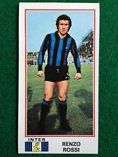 CALCIATORI 1974-75 74-1975 n 179 INTER RENZO ROSSI , Figurina Sticker Panini NEW
