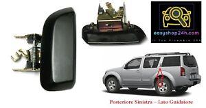 Poignée de Porte Extérieure Arriere Gauche Pour Nissan Pathfinder R51 2005 2012