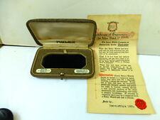 RARE 1920s ROLEX 24 WORLDS RECORDS BOX AND GUARANTEE CERTIFICATE