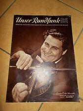 Unser Rundfunk DDR Nr. 13/55 März 50er Jahre alte Zeitungen Zeitschriften Berlin