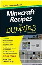 Minecraft Recipes For Dummies by Stay, Jesse; Stay, Thomas