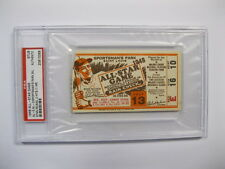1948 All Star Game At Sportsman's Park in St. Louis Ticket PSA Certified