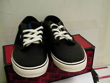Vans skating shoes atwood black/sudan/antique size 11 us new with box