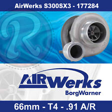 Borg Warner S300SX3 Turbo - 66mm Inducer - .91 A/R - AirWerks-BRAND NEW-177284