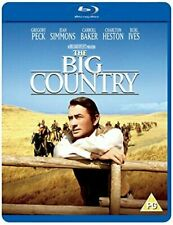 The Big Country BLURAY 1958 DVD Region 2
