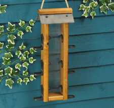 Severn 6-port Hanging Seed Wild Bird Feeder by Tom Chambers