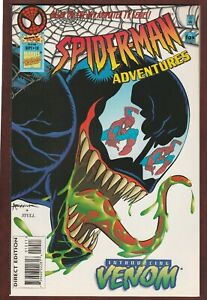 SPIDER-MAN ADVENTURES #10 SPIDERMAN comic first appearance of animated Venom