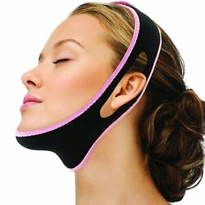 V Line Face Slimming Double Chin Reducer Mask Lifting Belt Anti-Wrinkle Chin
