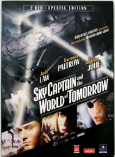Dvd Sky Captain and the World of Tomorrow - Special ed. slipcase 2 dischi Usato