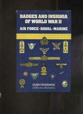 BADGES & INSIGNIA OF WW2 - AIR FORCE - NAVAL - MARINE by Rosignoli
