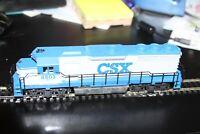 HO scale Con-Cor # 1003 EMD GP-40 Diesel Locomotive USED CSX 6503 CAB