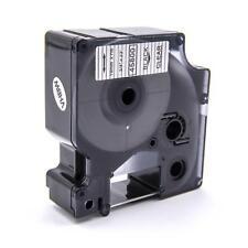 RUBAN CASSETTE 19mm N/T pour Dymo D1, 45800