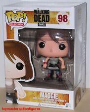 FUNKO POP The WALKING DEAD Series 4 MAGGIE GREENE #98 Vinyl Figure IN STOCK