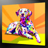 ABSTRACT DALMATIAN CANVAS PRINT PICTURE WALL ART HOME DECOR FREE FAST DELIVERY