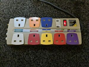 Monster HTS800 Power Strip Home Theatre, Satellite & Surge Protection Lead UK